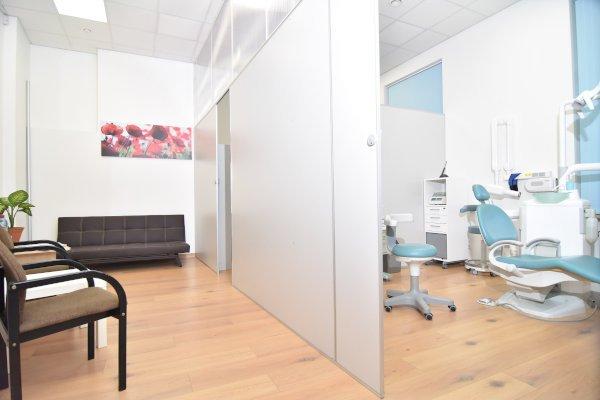 Santas zobārstniecība, uzgaidāmā telpa un kabinets